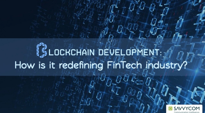 Blockchain – the new normal in FinTech
